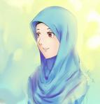 hijab potrait