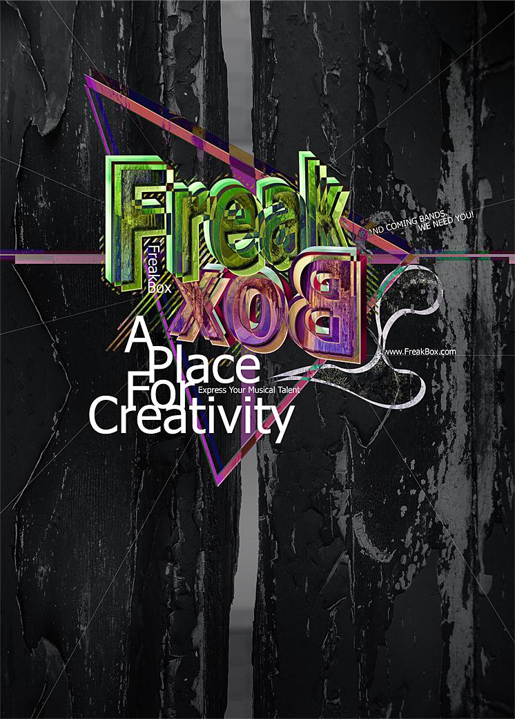 Freak Box Poster by Cassava