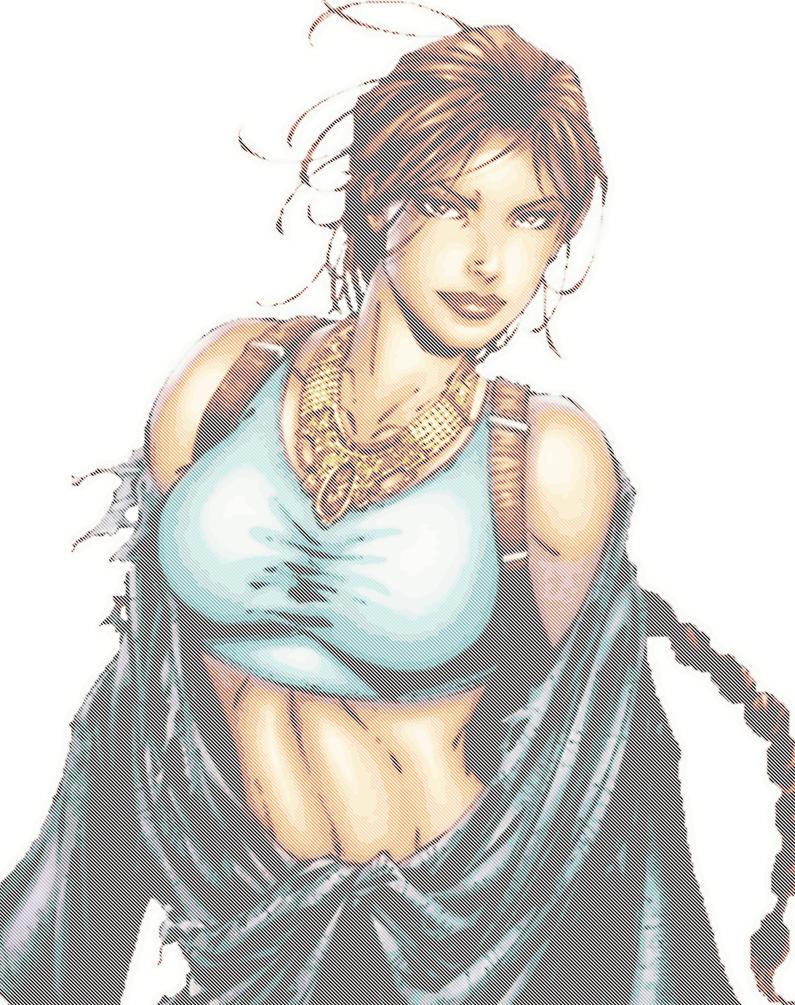 Lara Croft The Tomb Raider by Kai-Nichi