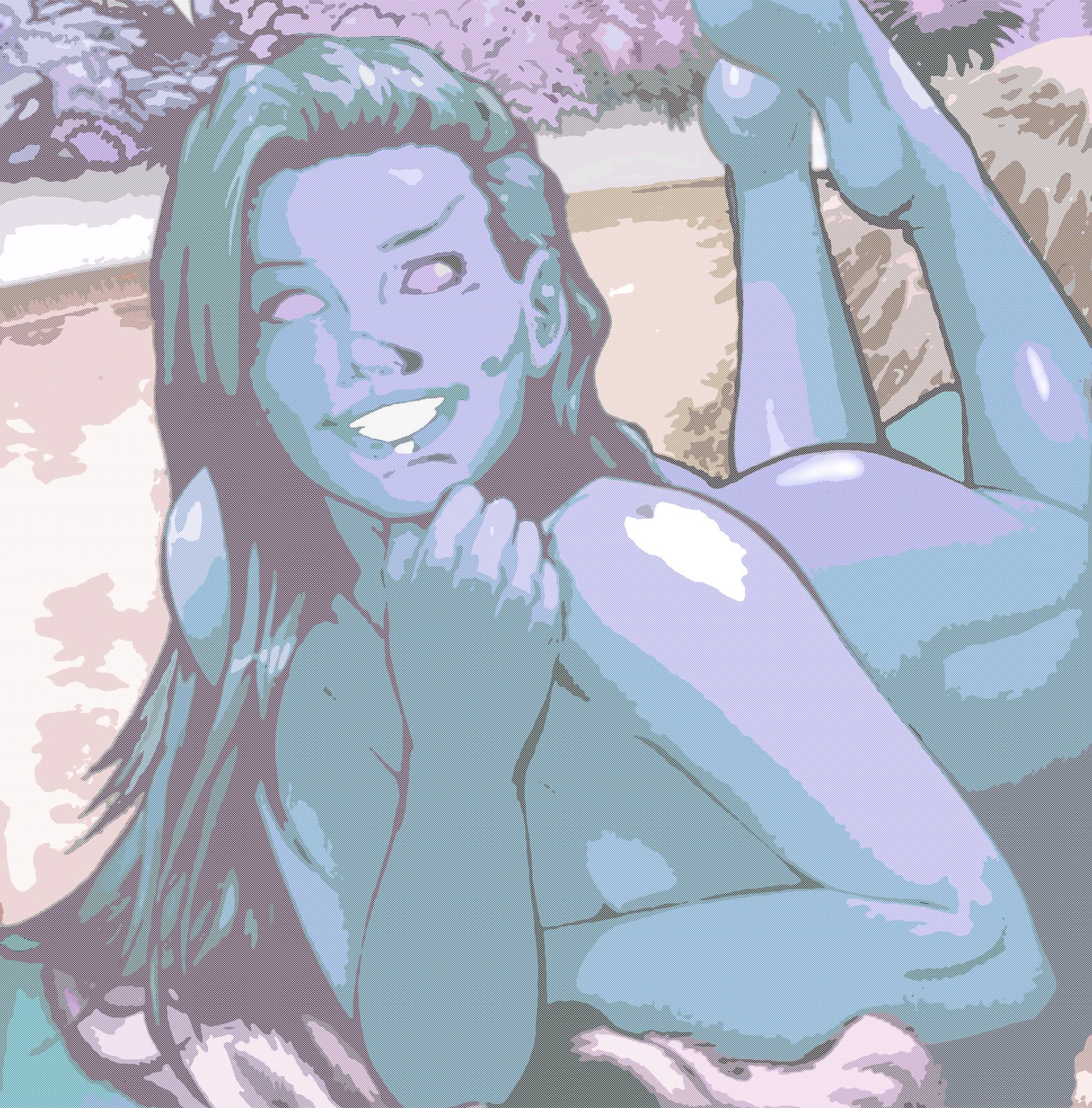 Starfire (The Blue) by Kai-Nichi