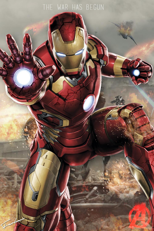 Avengers Iron Man Poster HD by JunkyardAwesomeness on ...