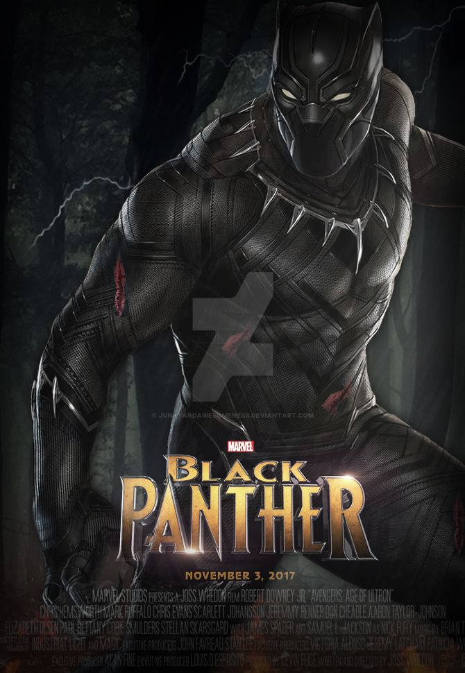 Marvel's Black Panther 2017 Poster HD by ...