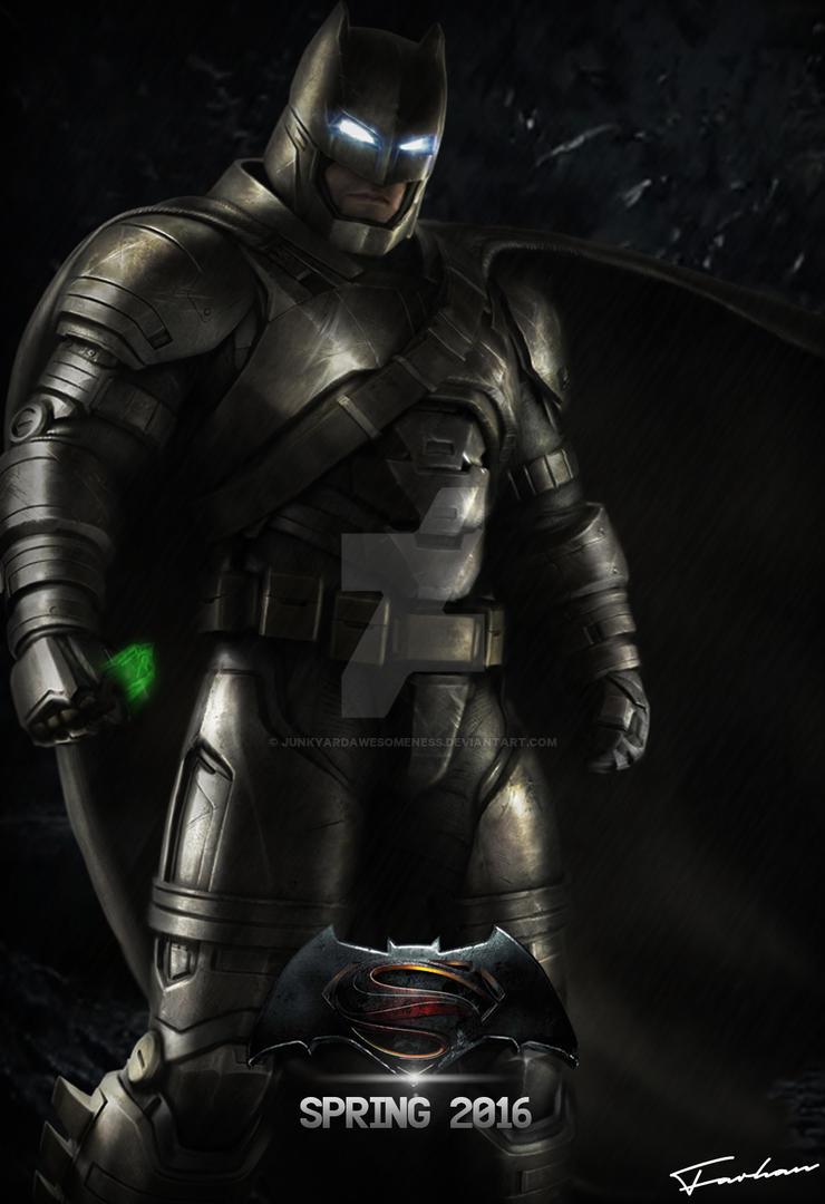 Batman V Superman Poster 2016 HD by JunkyardAwesomeness on ...