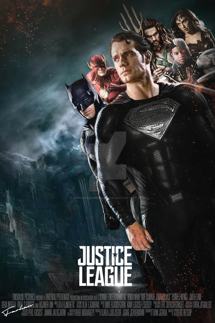 Justice League 2017 Movie Poster HD by JunkyardAwesomeness ...