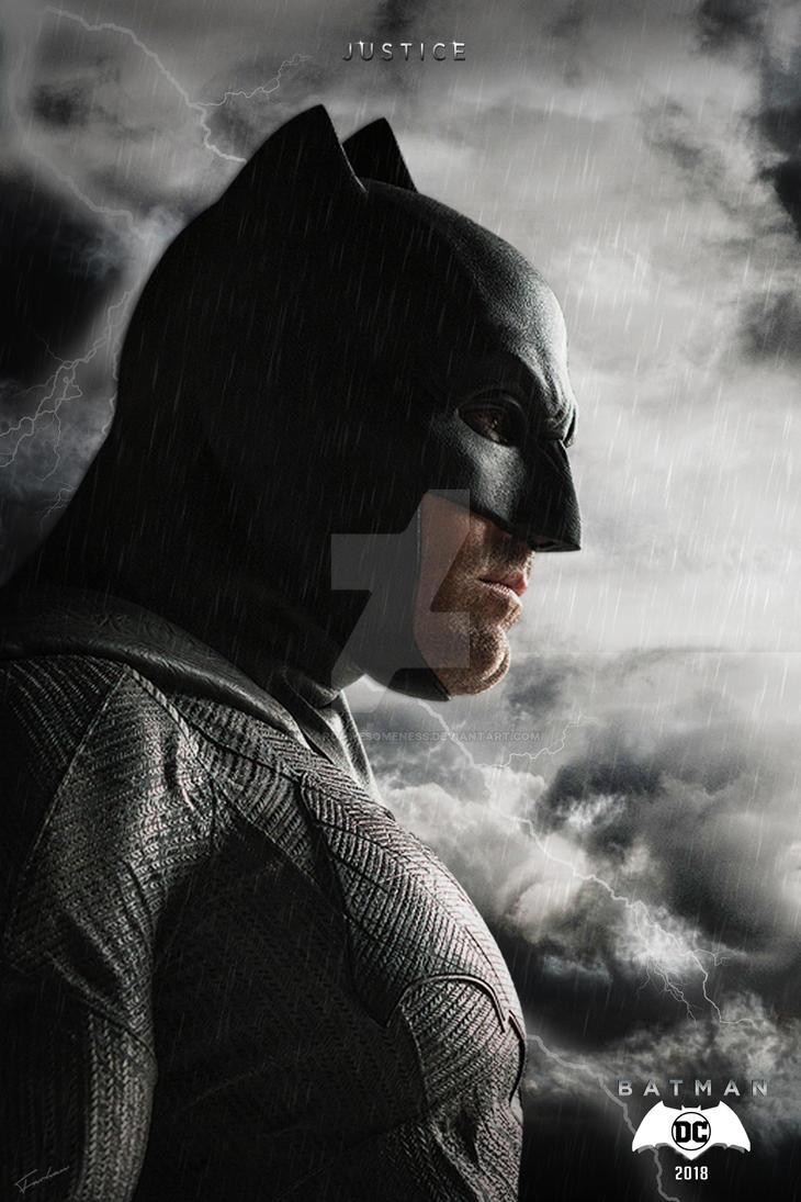 2018 ben affleck batman poster hd by junkyardawesomeness - Ben affleck batman wallpaper ...