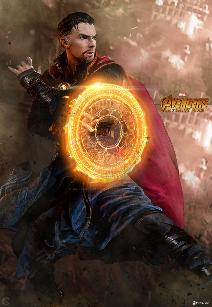 avengers infinity war doctor strange poster hd by
