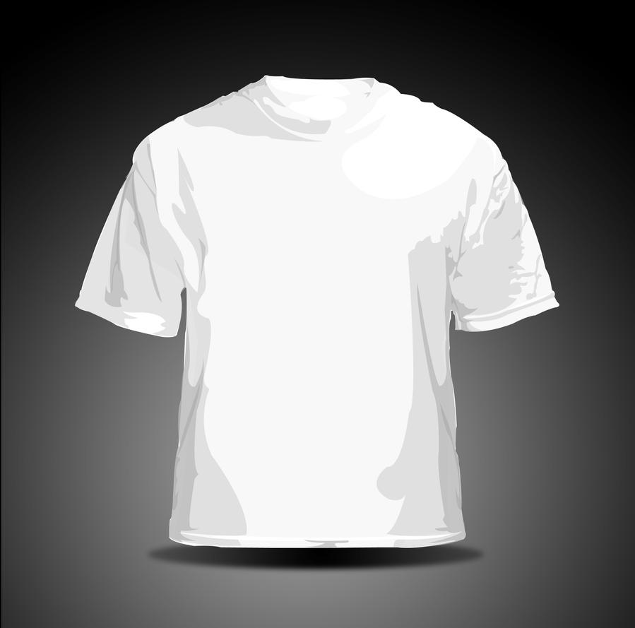 vector t shirt white by hellfire109 on deviantart