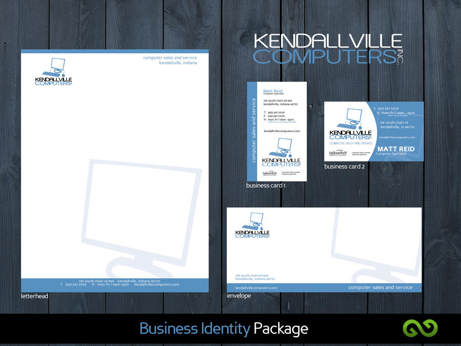KCI Business Identity Package By Hellfire109