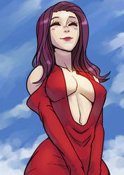 Red dress yay!