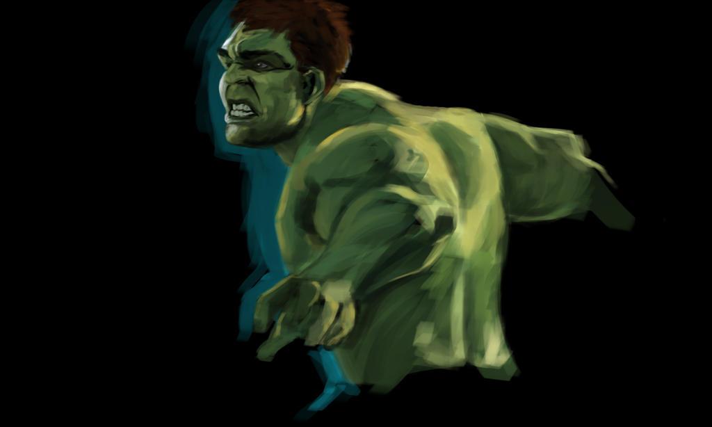 Warm Up-Hulk by alwaysmeran