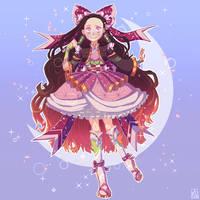 Magical girl Nezuko