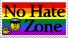 No Hate Zone by phoenixtsukino