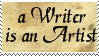 a Writer is an Artist by phoenixtsukino