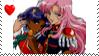 Rev. Girl Utena - UtenaxAnthy by phoenixtsukino