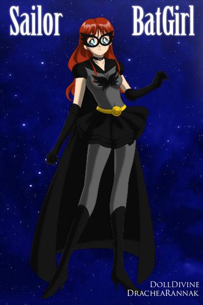 +Young Justice Scouts+ Sailor BatGirl(Barbara) by phoenixtsukino
