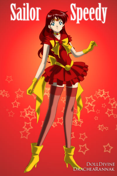 Young Justice Scouts  Sailor Speedy by phoenixtsukinoYoung Justice Speedy