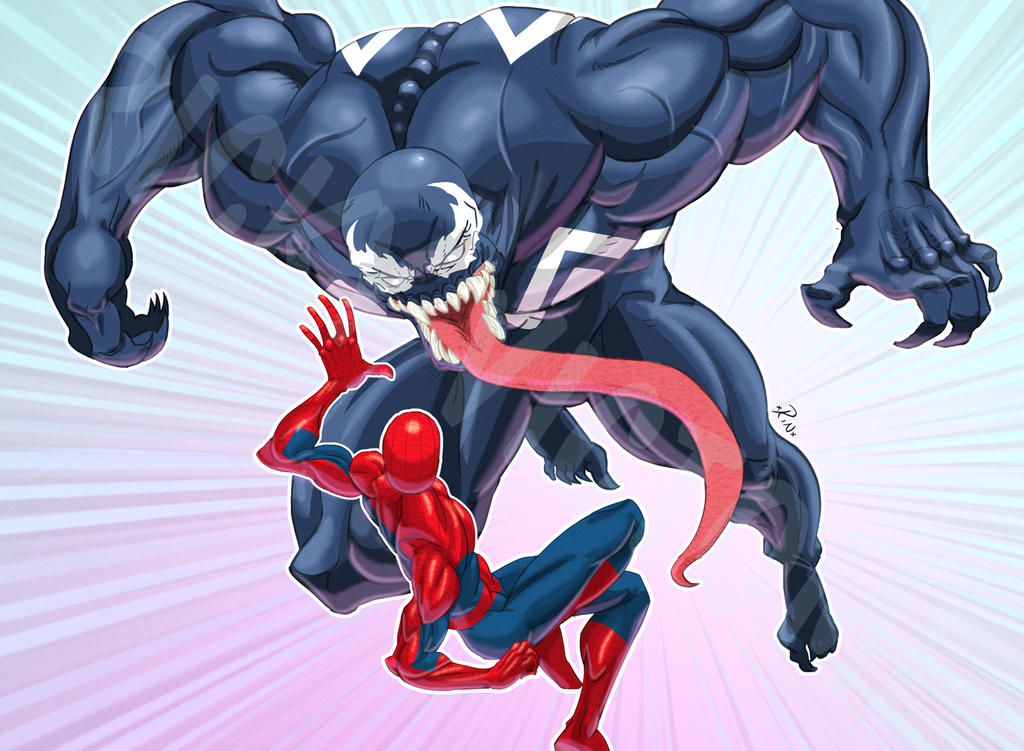 Spidey Battle 2 by Rinexperience