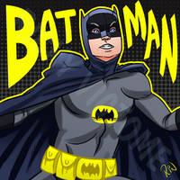 Adam West/ Batman Tribute by Rinexperience