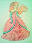 Christmas Ariel - Crayola Crayon Coloring
