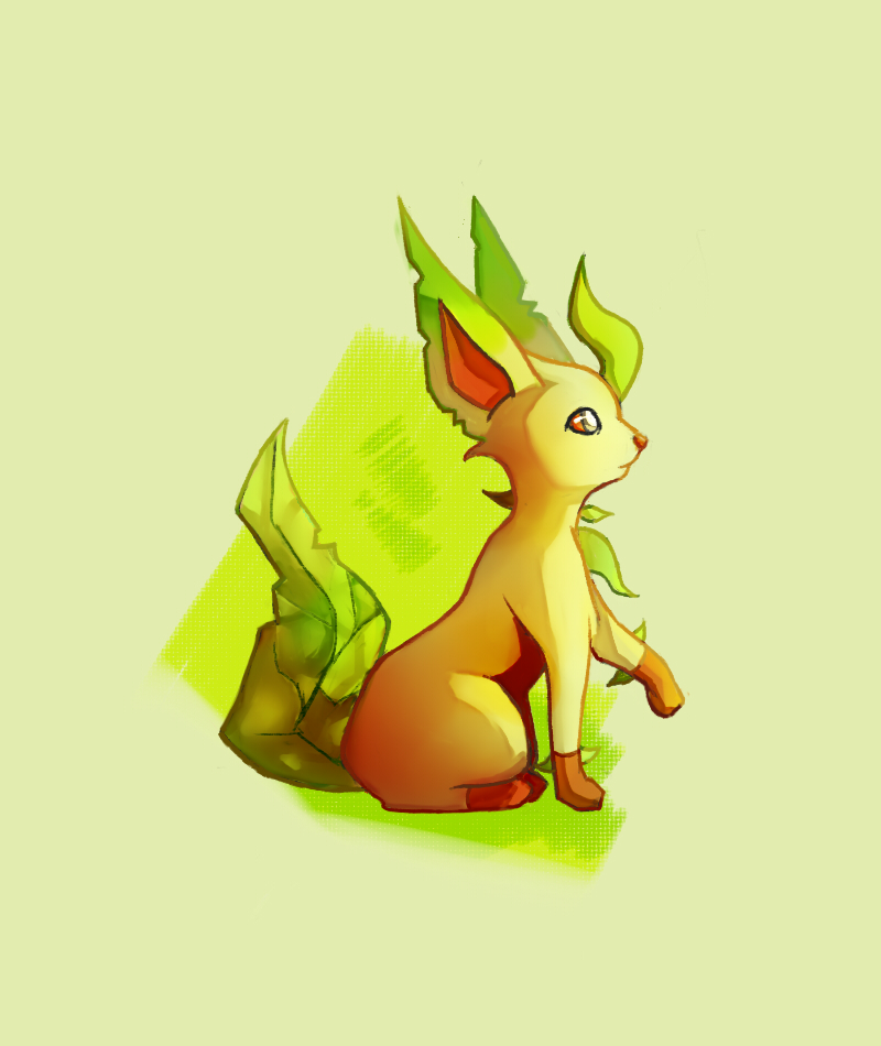 Eeveelution: Leafeon by TommyBinh