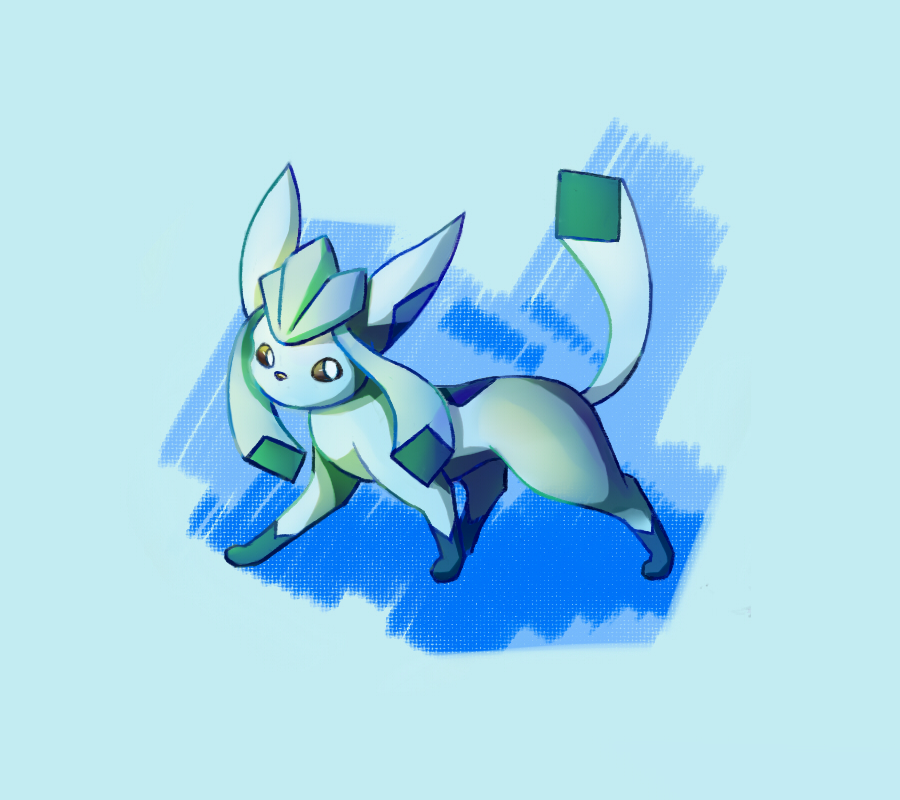 Eeveelution: Glaceon by TommyBinh