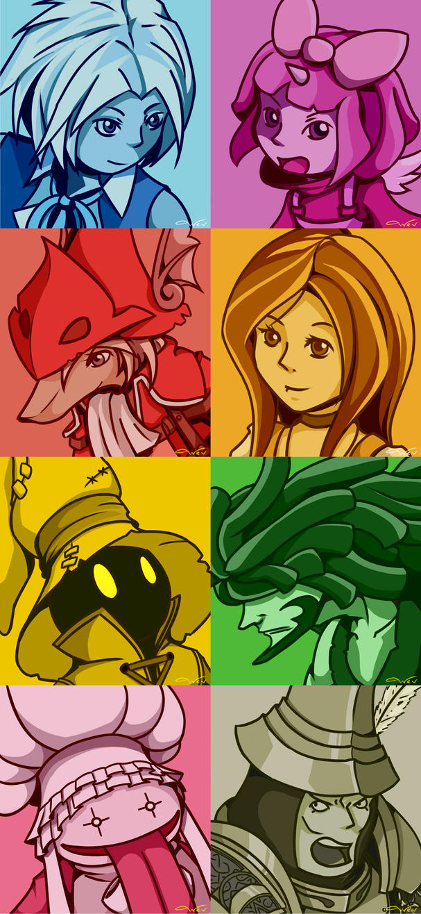 Final Fantasy IX - 15 years Anniversary by TommyBinh