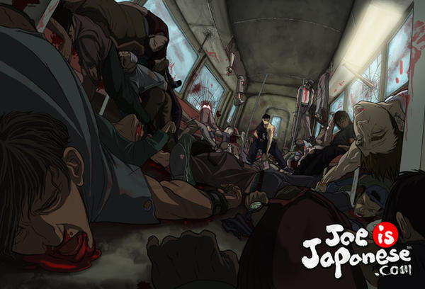 Joe is Japanese by delucia44 45 Awesome Apocalyptic Zombie Artworks