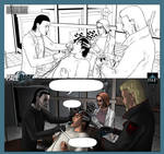 Pale Dark Issue 2 pg 1 ink to color by IsleSquaredComics