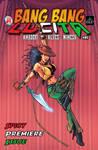 Bang Bang Lucita: Issue 01 cover by IsleSquaredComics