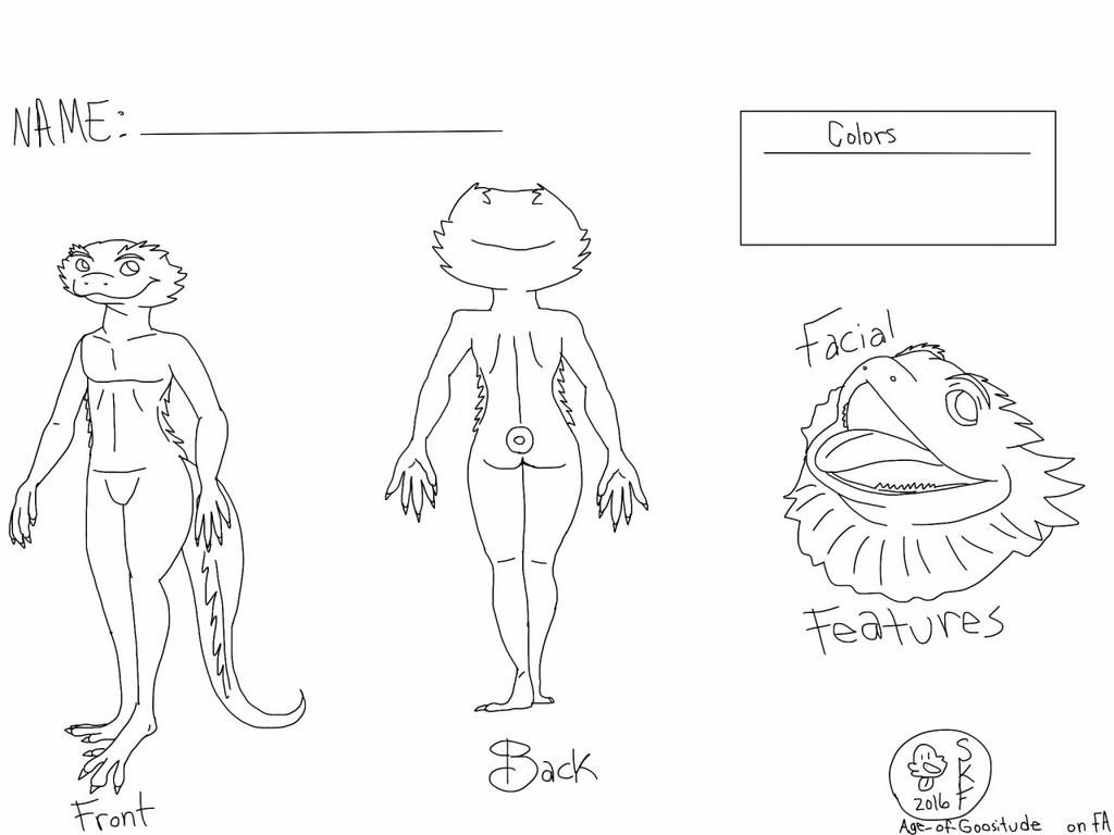free bearded dragon reference sheet by styx the avian on deviantart