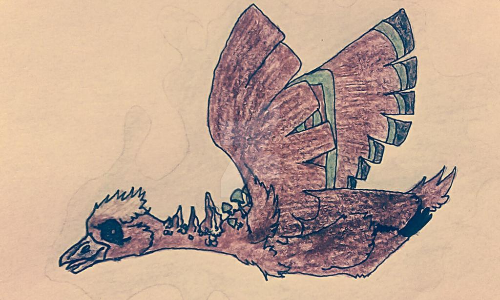 Mushroom Goose by Styx-the-Avian