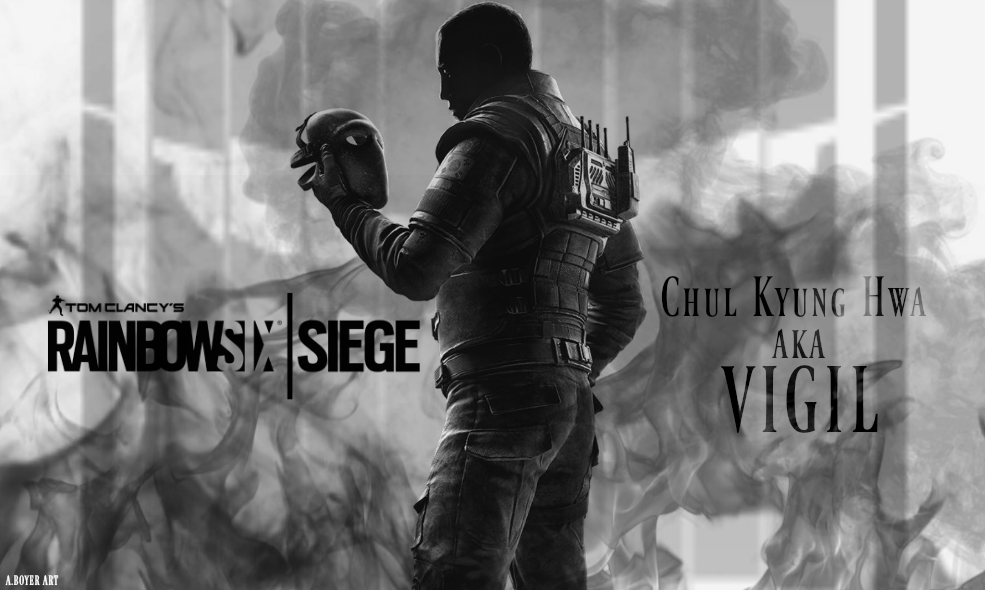 Rainbow six siege wallpaper vigil a boyer art by aboyerart on deviantart - Rainbow six siege vigil wallpaper ...