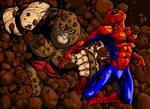 Spidey vs Juggernaut