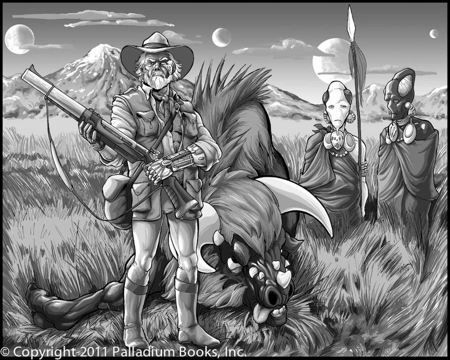 Big Game Hunter by Mumah