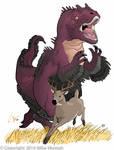 Allosaurus on the Hunt