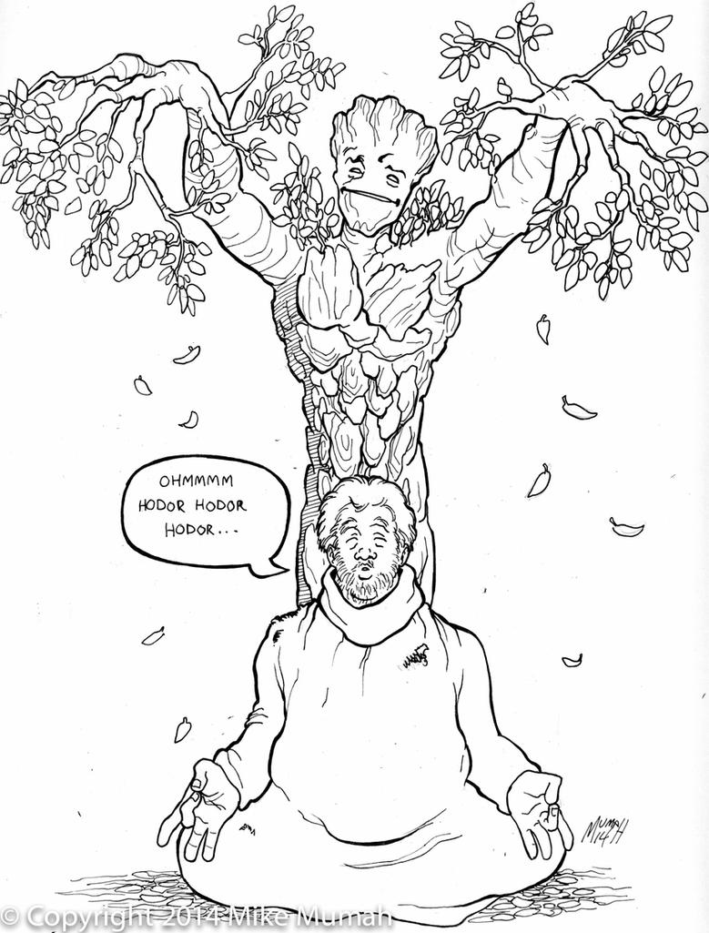 Groot and Hodor by Mumah