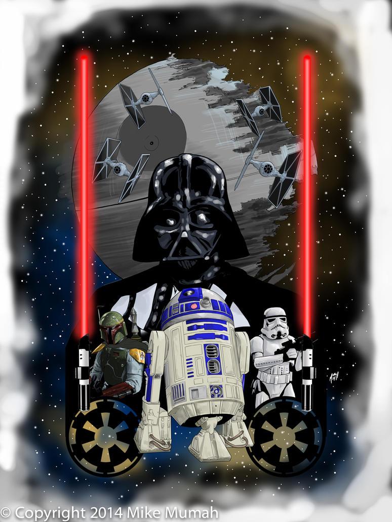 Star Wars Tattoo by Mumah