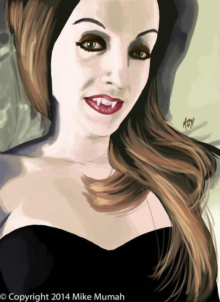 Vampire Jill by Mumah