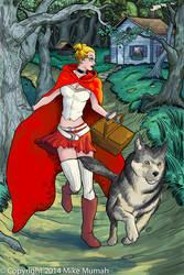 Big Red Riding Hood by Mumah