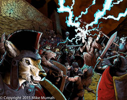 Wolfen Attack by Mumah