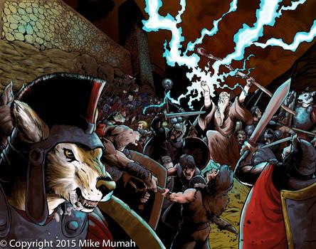 Wolfen Attack