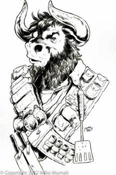 Combat Chef Minotaur