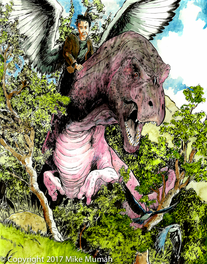 Metatron Dinosaur by Mumah