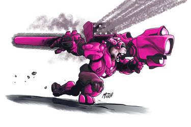 Pink Sonic Cyber-Deathbunny of Dooooo!!!2.0