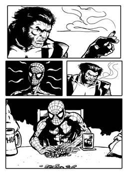 Avengers poker storyboard