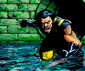 Wolverine Color by Mumah