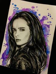 Jessica Jones by AntoniettaArnoneArts