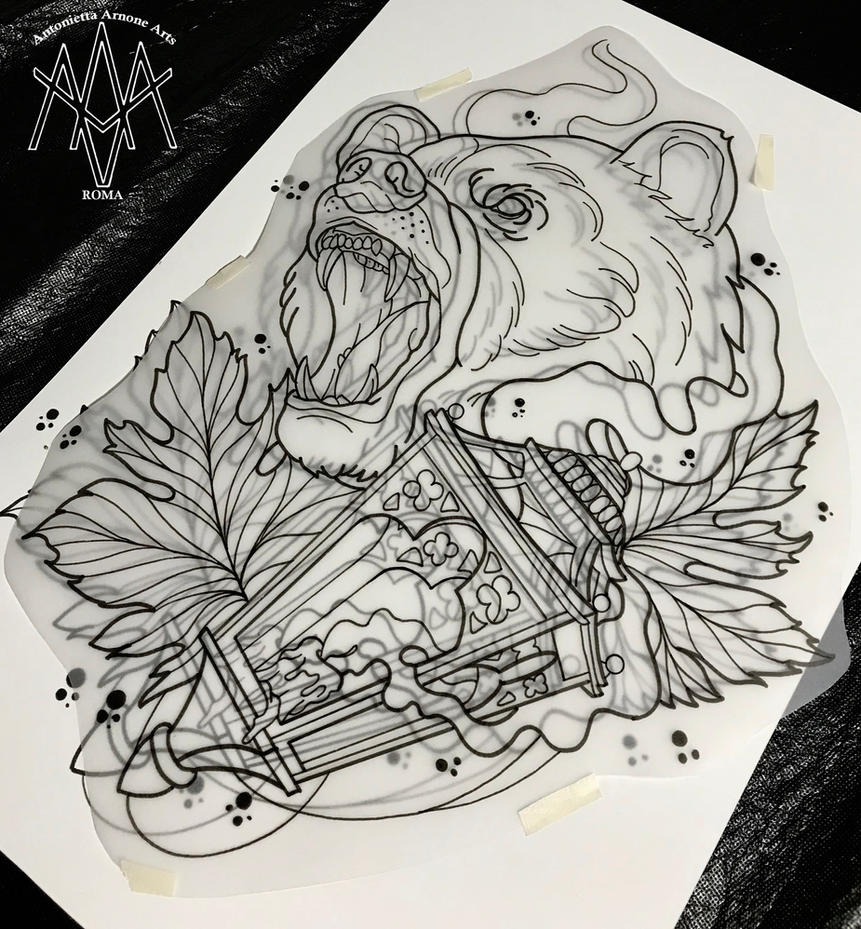 how to draw traditional tattoos
