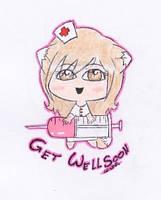 Get Well Soon by angelkittin