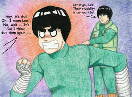 'The Gai Lee Conundrum' by milquest